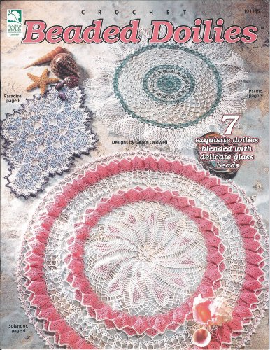 es 7 Exquisite Doilies Blended with Delicate Glass Beads (Beaded Doily)
