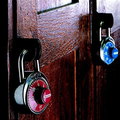 Coloris al/éatoire Master Lock 1503EURD Cadenas /à combinaison fixe 48 mm