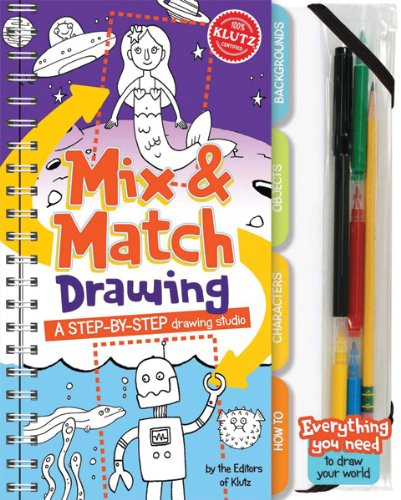 klutz mix and match drawing - 1