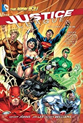 'Justice League, Vol. 1: Origin (The New 52)' from the web at 'https://images-na.ssl-images-amazon.com/images/I/61hYGO3Y0sL._UY250_.jpg'