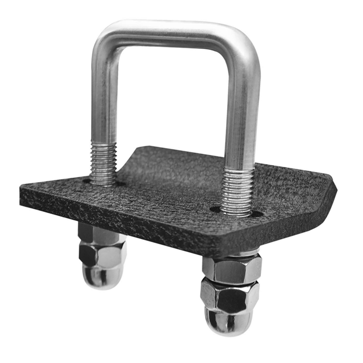 TAC Hitch Tightener Fit 1.25'' and 2'' Hitches 304 Stainless Steel Anti-Rattle Stabilizer Rust-Free Heavy Duty Lock Down Tow Clamp Suitable for Trailers, Carriers & Racks No Wobble by TAC TRUCK ACCESSORIES COMPANY