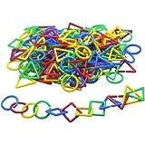 Learning Advantage 7114 Attribute Links, Grade: Kindergarten to 6, Plastic (Pack of 500)