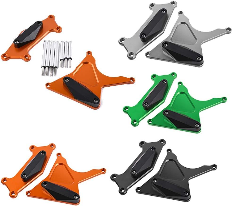 Orange XX eCommerce Versys-650 Zubeh/ör Motor Stator Crash Pad Protector Slider F/ür Kawasaki Versys 650 ER 6 2016