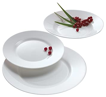 Luminarc Arc International Everyday Dinner Plate (Set of 6) 10.25u0026quot; ...  sc 1 st  Amazon.com & Amazon.com | Luminarc Arc International Everyday Dinner Plate (Set ...