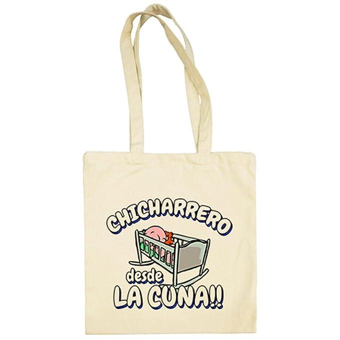 Bolsa de tela Chicharrero desde la cuna Tenerife fútbol - Beige, 38 x 42 cm: Amazon.es: Ropa y accesorios