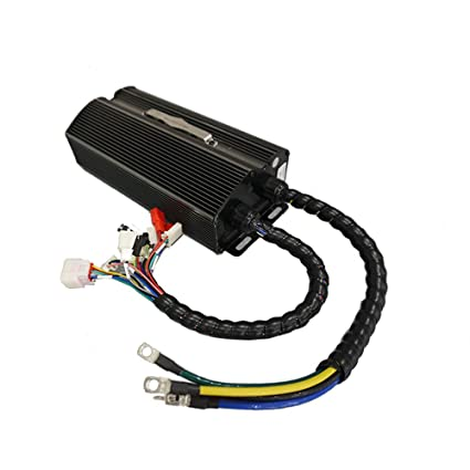 QSMOTOR E-Bike QSYKZ7280J Controller 42V-72V 80A 1000-2000w Square Wave  Brushless Motor Controller for Electric Tricycle
