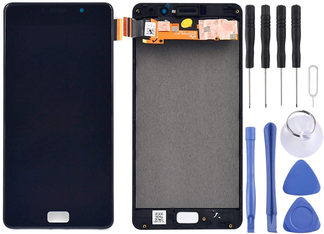 Zhangl Mobile Phone LCD Screen LCD Screen and Digitizer Full Assembly with Frame for Lenovo Vibe P2 / P2a42 / P2c72 (Black) LCD Screen (Color : Black)