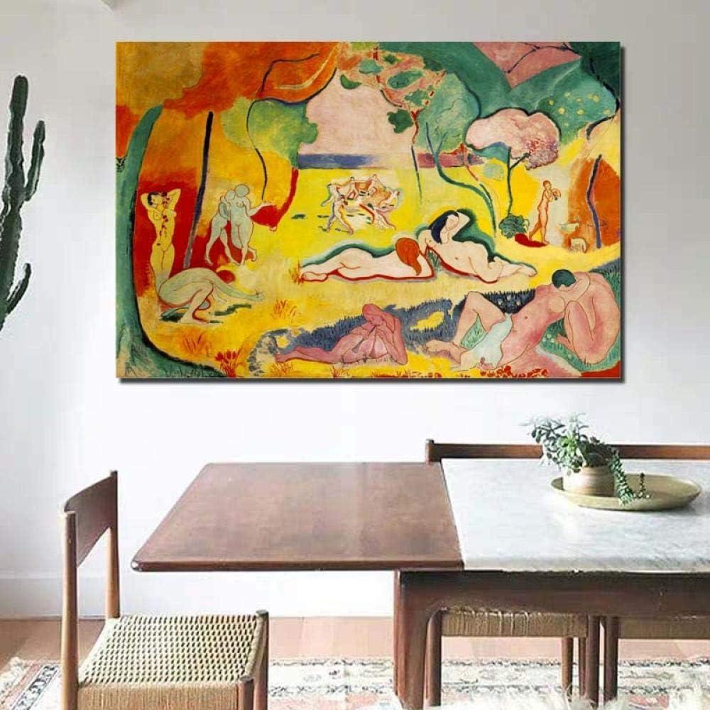 No brandJoy of Living Matisse Stampa su Tela Stampa Soggiorno Decorazione per la casa Arte Moderna della Parete Pittura a Olio Poster Immagini 60 cm x 90 cm Senza Cornice