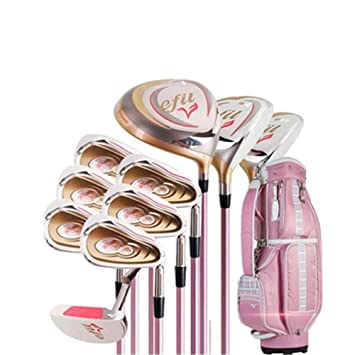 El juego de palos de golf para damas derechas para damas de ...