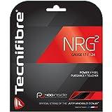 Tecnifibre NRG2 17g (1.24) Black Tennis String - 40 foot pack