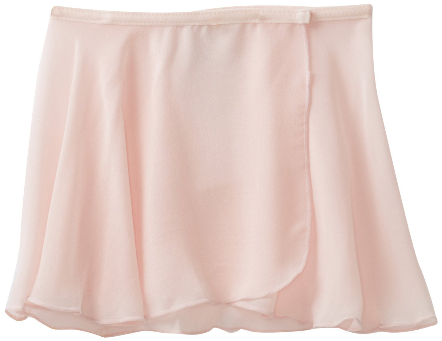 Danskin Little Girls' Wrap Skirt, Theatrical Pink, Small/Intermediate