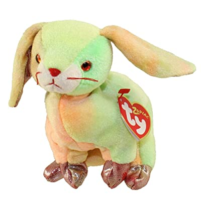 TY Beanie Baby - THE RABBIT Chinese Zodiac: Toys & Games