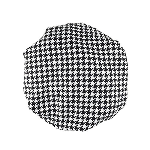 Betty Dain Socialite Collection Terry Lined Shower Cap, Houndstooth