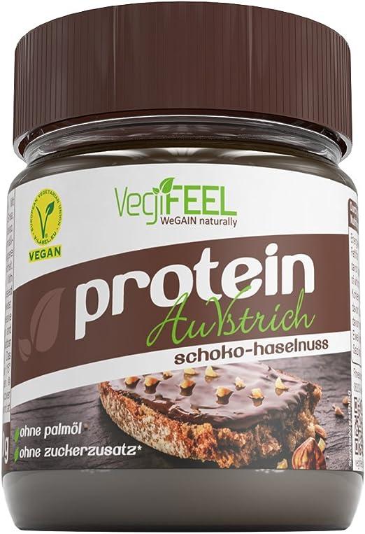 Proteína vegifeel auvstrich, Avellana Color Crema de ...