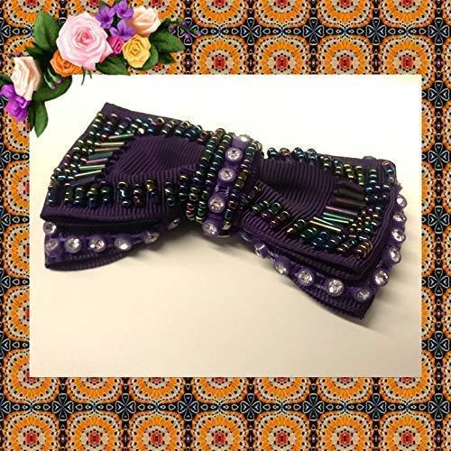 La Loria Accessoires Femme Clips pour chaussures Purple Opera couleur violet vendus par paire