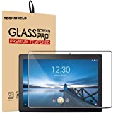 TECHSHIELD® Tab M10 Tempered Glass Screen Protector with[Anti-Scratch],[Anti-Fingerprint],[Bubble Free],Compatible for Lenovo Tab M10 TB-X605F Tablet (NOT for TB-X605LC)