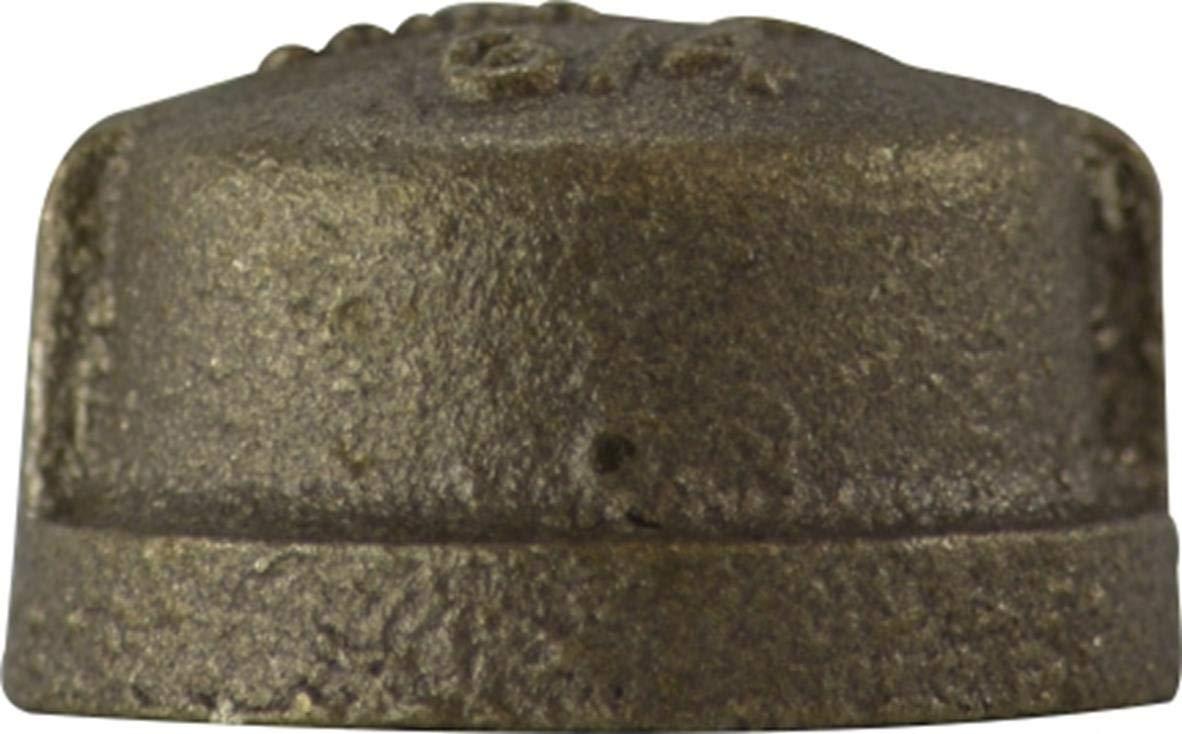 Size 1 1.03 Height 1 Midland Metal Midland 44-475LF Bronze Fitting Cap Lead Free Bronze 1.03 Height