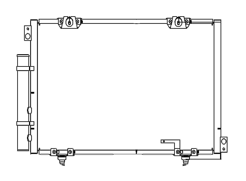 BEHR HELLA SERVICE 8FC 351 038-731  Kondensator, Klimaanlage Hella KGaA Hueck & Co.