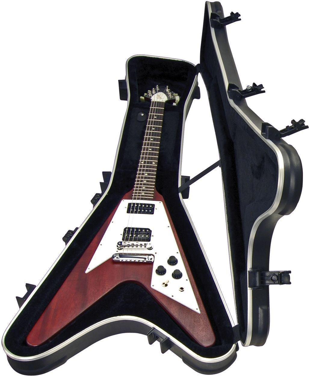SKB 1SKB-58 Gibson Flying V - Funda rígida para guitarra eléctrica (incluye auriculares Bluetooth): Amazon.es: Instrumentos musicales