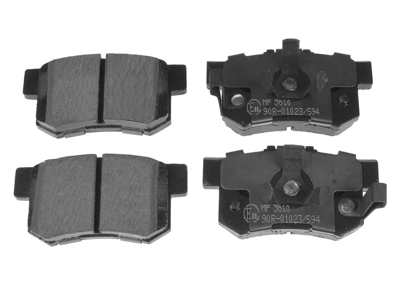 Blue Print ADH24280 Brake Pad Set pack of four