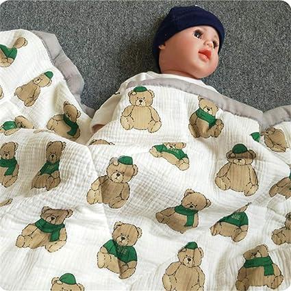 MMHJS Otoño E Invierno Manta Gruesa De Algodón para Bebés Manta para Siesta De Jardín De Infantes Manta para Bebé Manta para Edredón: Amazon.es: Hogar