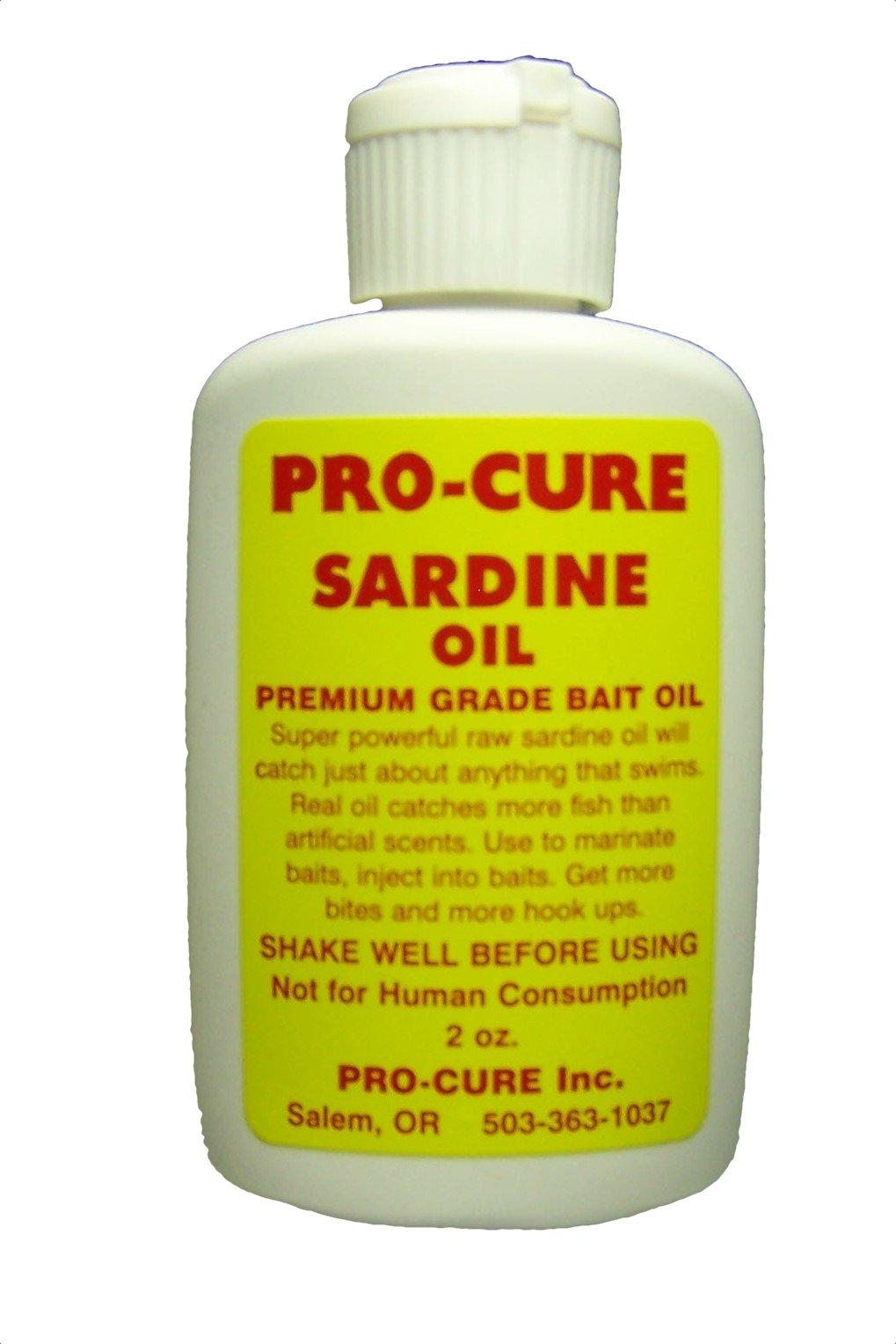 Pro Cure Sardine Bait Oil, 2 Ounce
