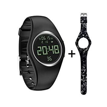 Amazon.com: Ann Bully - Reloj de podómetro para niños, 2 en ...