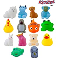 Kidzee Chu Chu Bath Toys for Baby Non-Toxic Toddler Set Multi Color