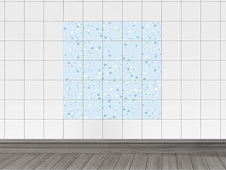 Piastrelle adesivo piastrelle quadro per cucina punti cerchi ...