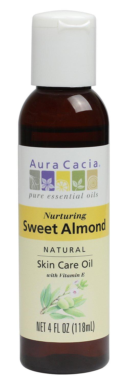 Aura Cacia Sweet Almond Skin Care Oil