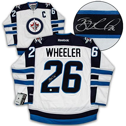 Image Unavailable. Image not available for. Color  Blake Wheeler  Autographed Jersey ... af763d876406