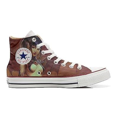 Converse All Star personalisierte Schuhe (Handwerk Produkt) Krieger Sex