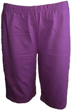 Unbekannt Pantalones Cortos de Ciclismo para Mujer, de algodón ...