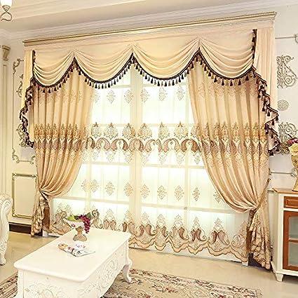 FidgetGear Luxury Velvet Waterfall Valance Curtains with Triple Valance Track