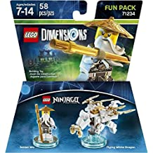 Warner Bros Lego Dimensions Sensei Wu Fun Pack - Ninjago Sensei Wu Fun Pack Edition