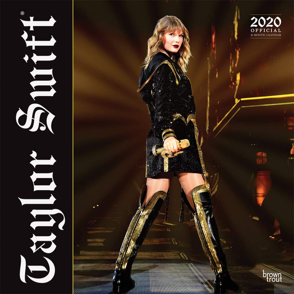 Taylor Swift 2020 12 x 12 Inch Monthly Square Wall Calendar, Music Pop Singer Songwriter Celebrity (English, Spanish and…