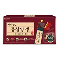 Crown Squeeze Korean Sweet Red Ginseng Jelly Stick | 600g | Healthy Snack for Kids...