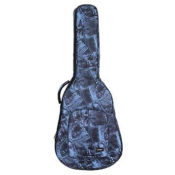 perfk 1 Pieza Bolsa de Guitarra Almohadilo a Prueba de Agua Bolso de Deporte Suave Accesorio