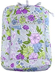 Vera Bradley Laptop Backpack (Updated Version) with Solid Color Interiors