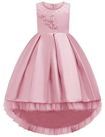 4fac740ef Amazon.com  KISSOURBABY 3-14 Years Girls Party Wedding Holiday ...
