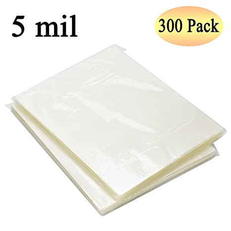 RyhamPaper Thermal Laminating Pouches, 9 x 11.5-Inches/Letter Size/5 mil, 300 Pack