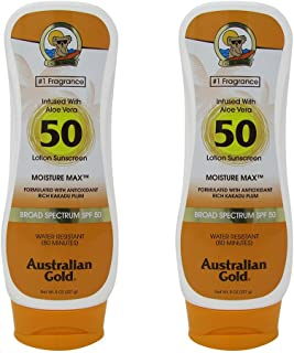 product image for Australian Gold Spf#50 Lotion Moisture Max 8 Ounce (237ml) (2 Pack)