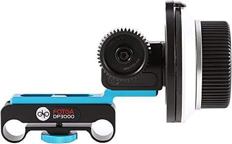 Fotga DP3000 DSLR follow focus FF para 15 mm Varilla Rig 6d 60d ...