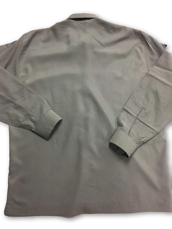 Adolfo Dominguez Basico Shirt in Grey/Green XL: Amazon.es: Ropa y ...