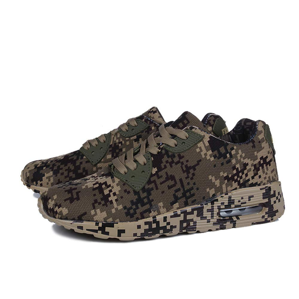 Sneakers for Men Caopixx Mens Camouflage Walking Shoes Breathable Sport Causal Shoes