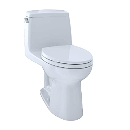 Peachy Toto Ms854114Elg01 Eco Ultramax Ada Elongated One Piece Toilet With Sanagloss Cotton White Lamtechconsult Wood Chair Design Ideas Lamtechconsultcom
