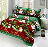 Jessy Home 3D Printed Bedding Sets Christmas Bedding Sets Gifts for Women