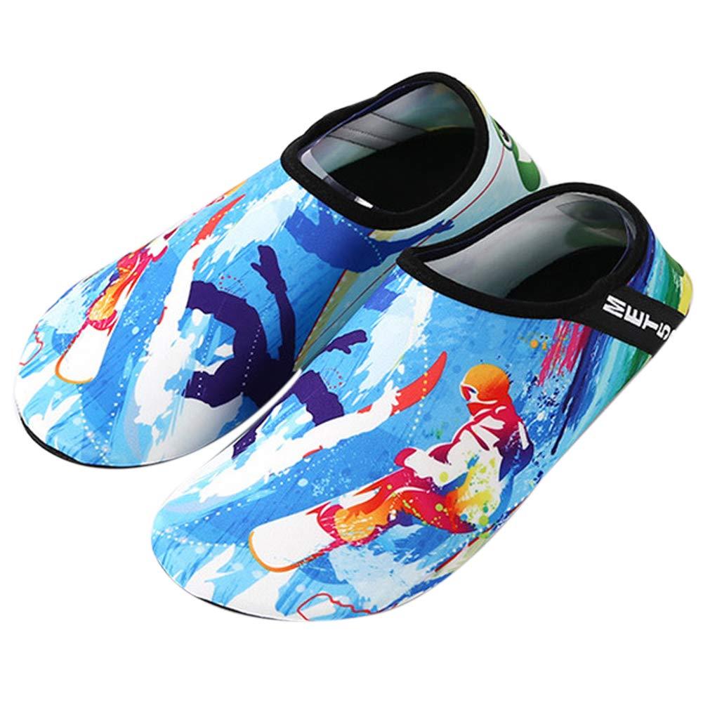 Chaussures O de Plongée Chaussures Nautique, de Plage, Chaussures de Ski Nautique, Chaussures de Tapis Roulant, Chaussures de Yoga O 5b7bf5f - tbfe.space