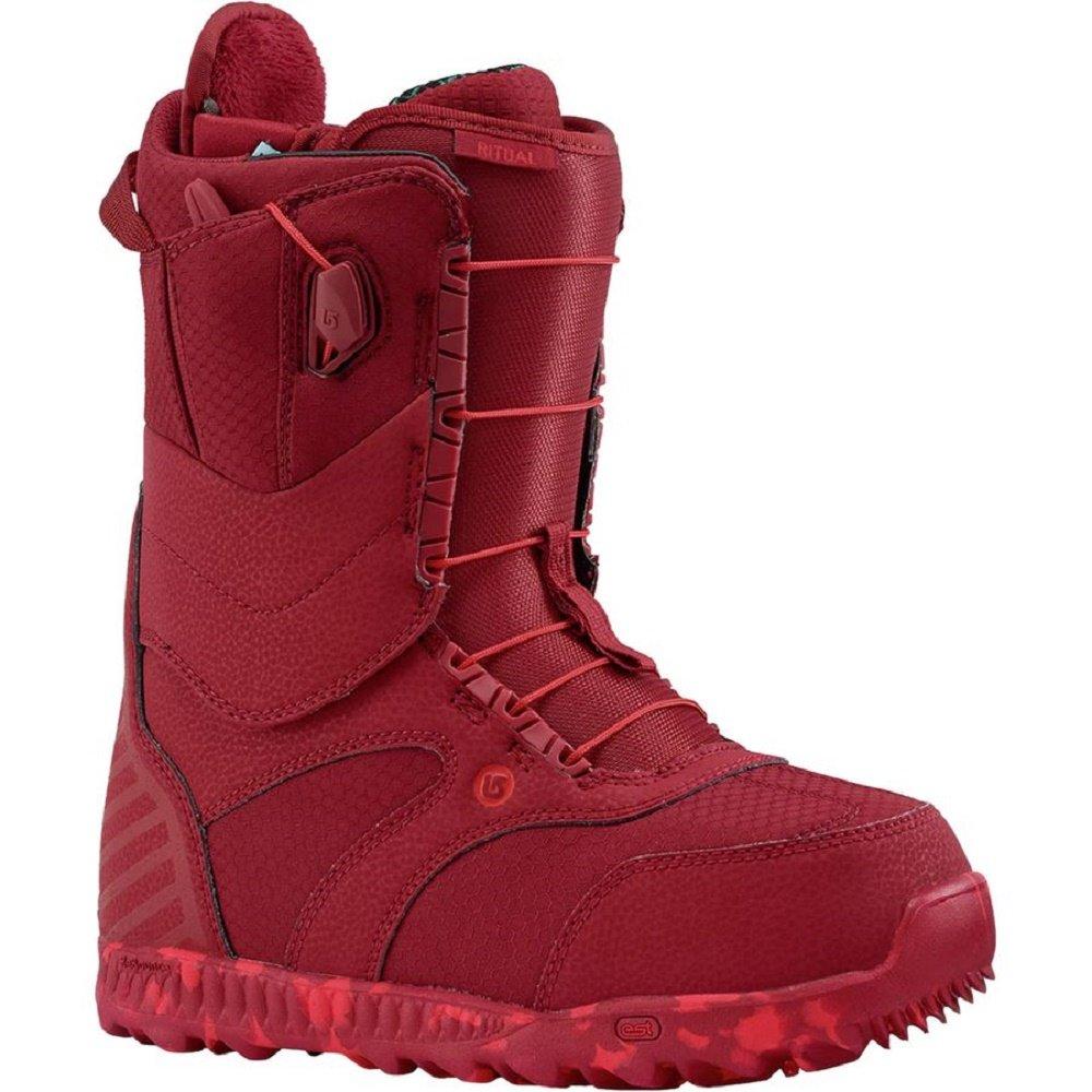 Burton - Womens Ritual Snowboard Boots 2018, Red, 10 by Burton