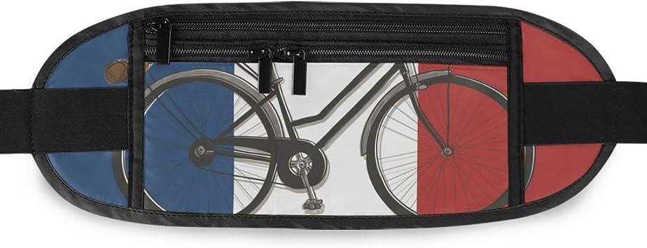 Montoj Paris - Riñonera para Bicicleta (15 x 5,8 Pulgadas): Amazon ...
